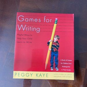 Games for Writing by Peggy Kaye